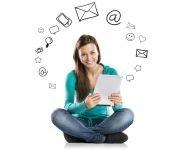 Social media: a virtual happy hour!