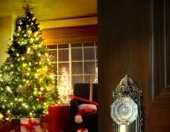 Creating a Christmas atmosphere