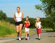La marche et le jogging