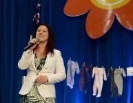 Marie-Élaine Thibert, marraine au grand cœur du Salon Maternité Paternité Enfants