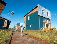 Hébergements en nature: 4 lofts sur mer