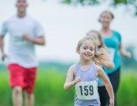 La course à pied en famille: un jeu d'enfant!