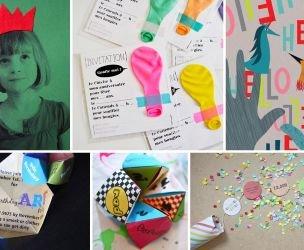 5 fabulous birthday invitations