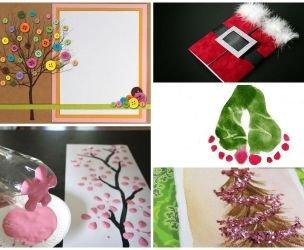 5 beautiful handmade Christmas cards