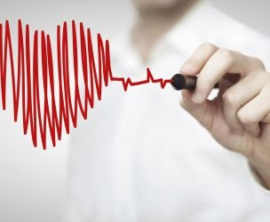 A heart attack in her forties