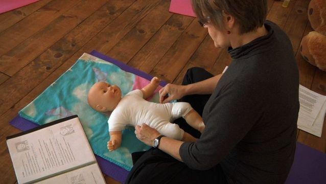 Le massage pour enfant - Vidéo
