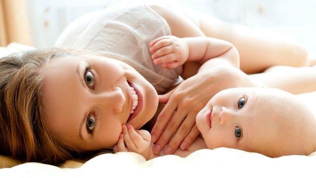 Portrait of modern moms