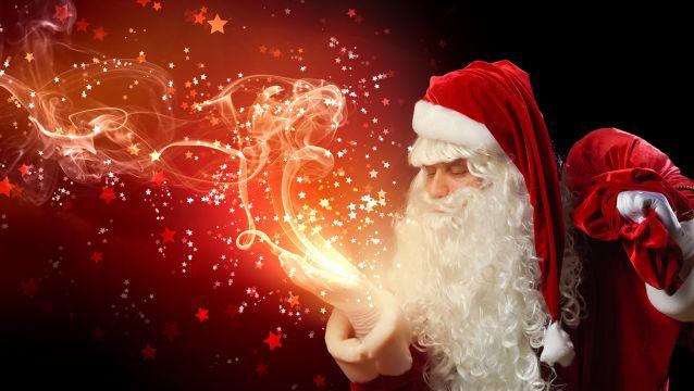Let them believe in Santa!