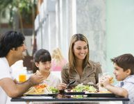 Eating out as a family