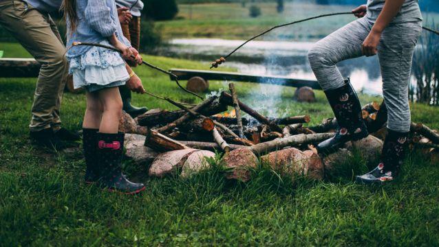 Camper en famille