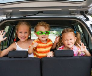 Entertaining kids on the road