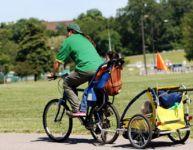 Les remorques et les sièges de vélo