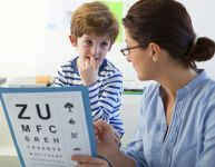 L'examen des yeux