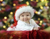 Premier Noël de bébé