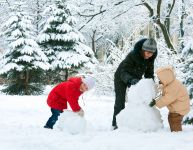 10 ways to enjoy the snow at home
