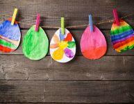 Bricolages de Pâques pour les tout-petits