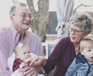 Precious grandparents!