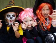 Costumes et maquillages d'Halloween