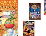 Six DVD pour l'Halloween