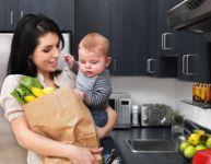 Maman à la maison : entre le projet et la réalité...