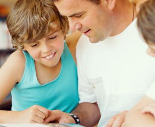 Passion for reading: from father to son