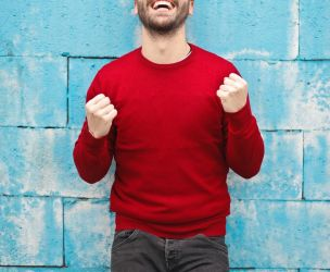 Finding inspiration in men's qualities