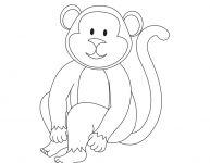Dessin d'un singe
