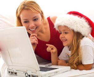 Christmas through the Internet!