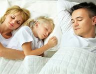 Sleeping with your children