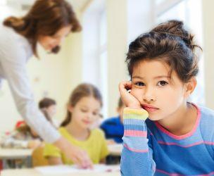 My child stresses over school