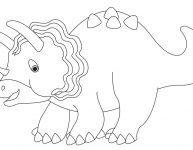Dessin d'un dinosaure – 02