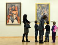 How to visit a museum with children