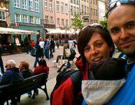 Bébé voyage en Pologne et en Irlande!