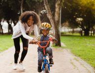 Apprendre à faire de la bicyclette