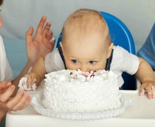 Celebrating your baby's first birthday!