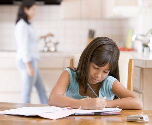 Create a homework space