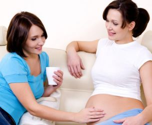 Bearing someone else's baby