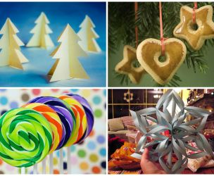 7 Christmas decorations to create