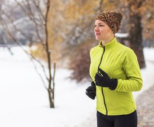 Winter activities before and after pregnancy