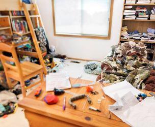 A teenager's bedroom