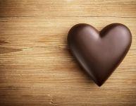 February: heart and cocoa