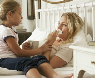 What happens when mom gets sick?