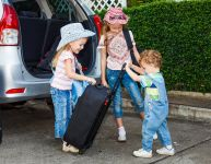 Traveling by car with children