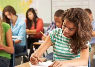 L'examen d'admission au secondaire