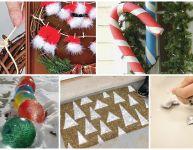 5 décorations extérieures de Noël à fabriquer