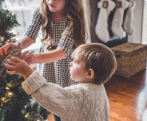 Les familles québécoises généreuses à Noël
