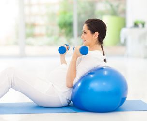 Abdominal exercises during pregnancy