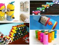 10 jouets à fabriquer avec des rouleaux