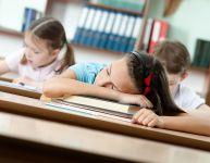 La fatigue des dernières semaines d'école