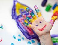 Peinture à doigts non toxique